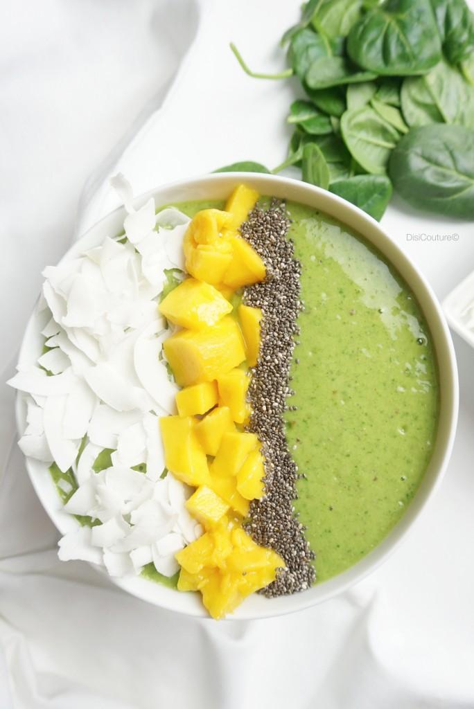 Matcha Green Tea Smoothie Bowl Disi Couturedisi Couture