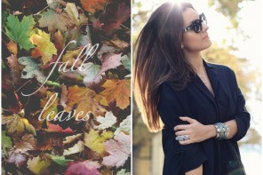 DC TENUE DU JOUR: FALL LEAVES