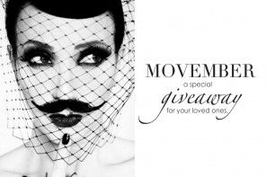 DC GIVEAWAY: MOVEMBER SPECIAL GIVEAWAY