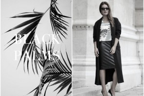 DC TENUE DU JOUR: BLACK PALMS
