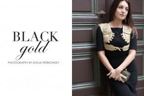 DC TENUE DE NUIT: BLACK GOLD