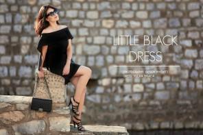 DC EDITORIAL: LITTLE BLACK DRESS