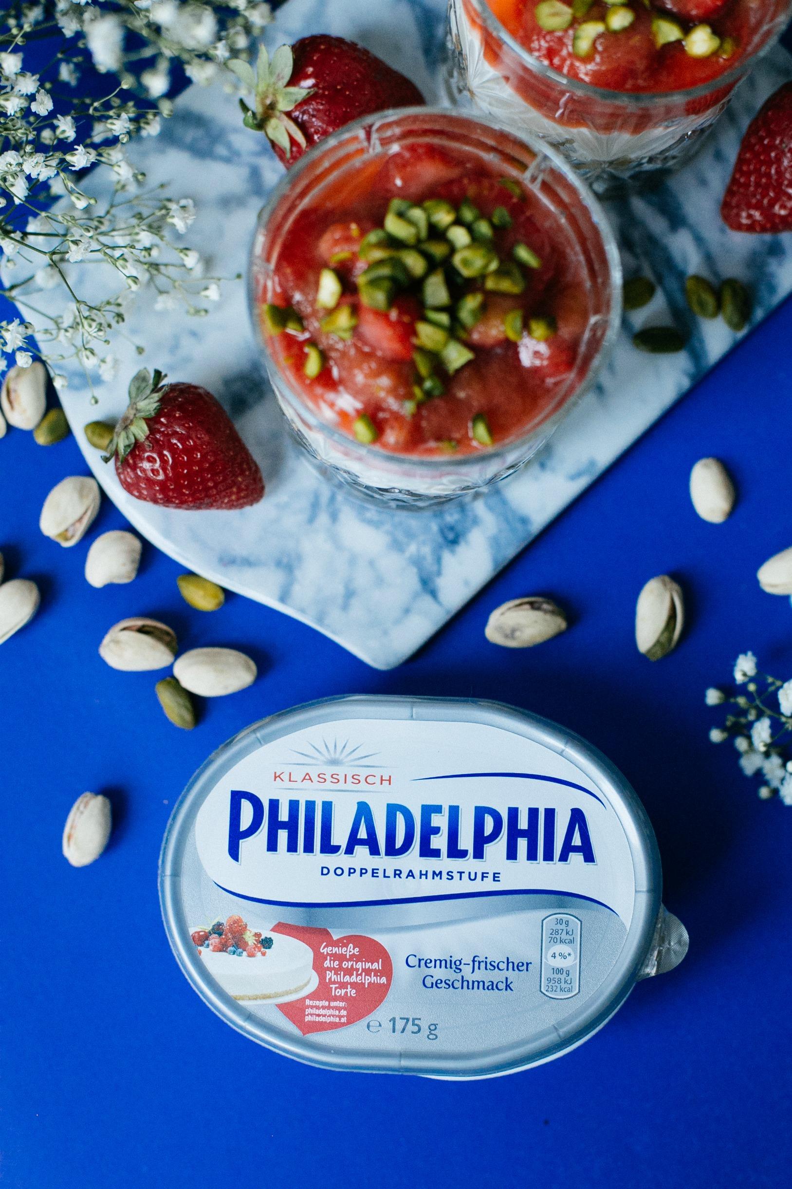Philadelphia torte kcal