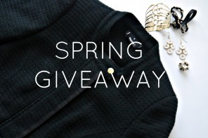 DC GIVEAWAY: AWESOME SPRING GOODIES TO WIN!