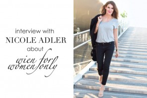 """DC BOOK: EXCLUSIVE INTERVIEW WITH NICOLE ADLER ABOUT """"WIEN FOR WOMEN ONLY"""""""