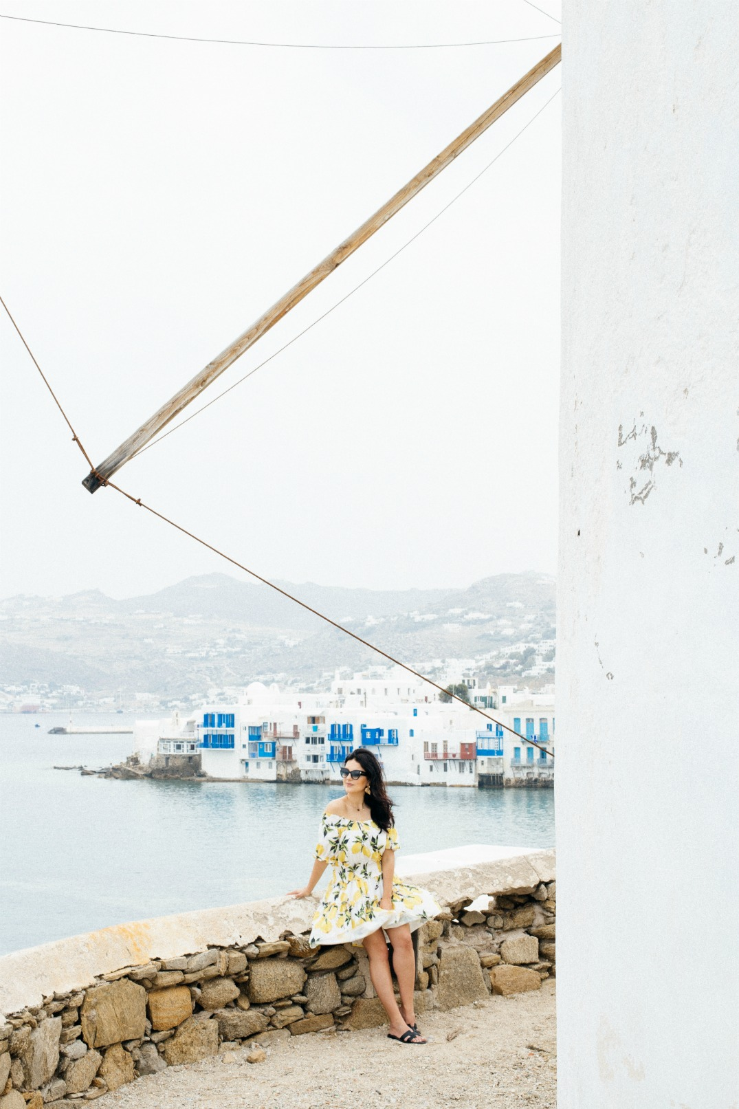 wind-mills-mykonos-town-2016-holidays-vacay-disi-couture-lemon-print-dress-10